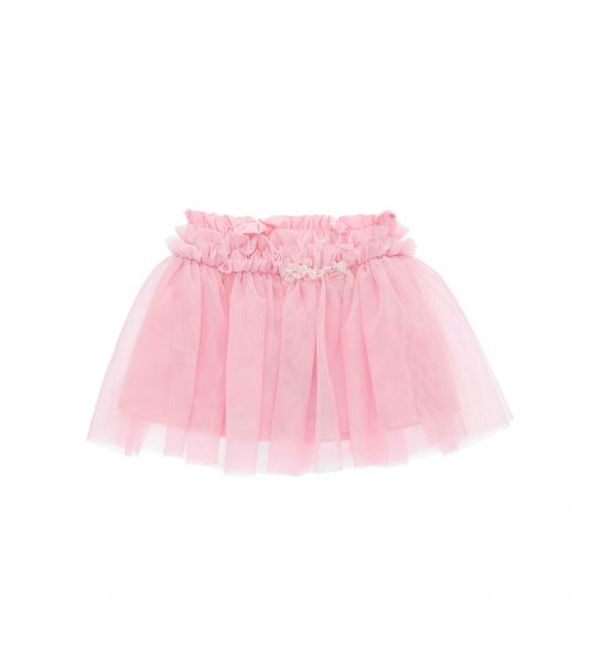 TULLE SKIRT AND ORGANZA FLOWERS